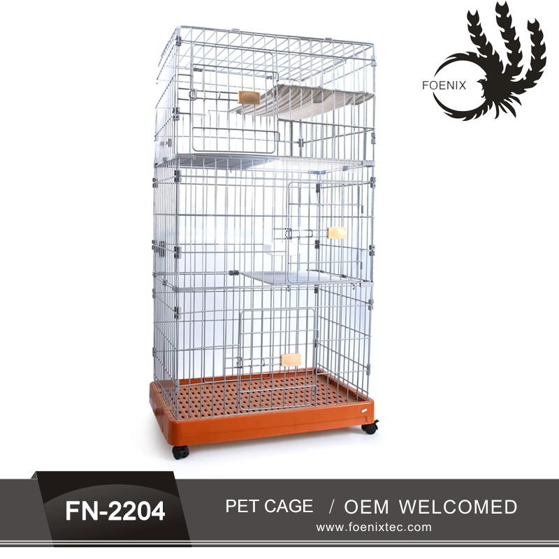 Commercial Dog Cage /Metal Welded Wire Dog Cage Kennel collapsible pet carrier