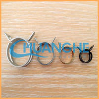 galvanized steel spring wire hose clamp