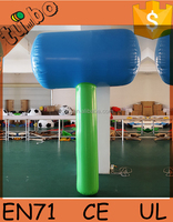 hot sale customiz inflatable hammer, inflatable model, inflatable toy for advertising water park