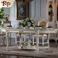 royal classic european furniture - baroque hand carved royalty dining table