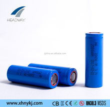 Headway li ion NMC battery li-ion 22650 3.7v 2500mah cell for electric bike