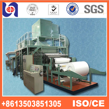 1092mm full automatic toilet paper machine facial tissue production line