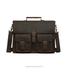 Western Handmade Leather Office Bags For Men