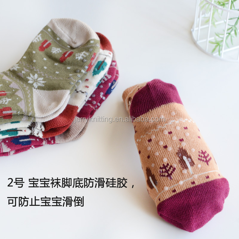 Christmas Childern Snowflake Cotton Christmas Socks