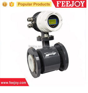 FM102 hot water anti-corrosion flow meter sensor low cost 50mm 4-20ma output water liquid sewage flow meter