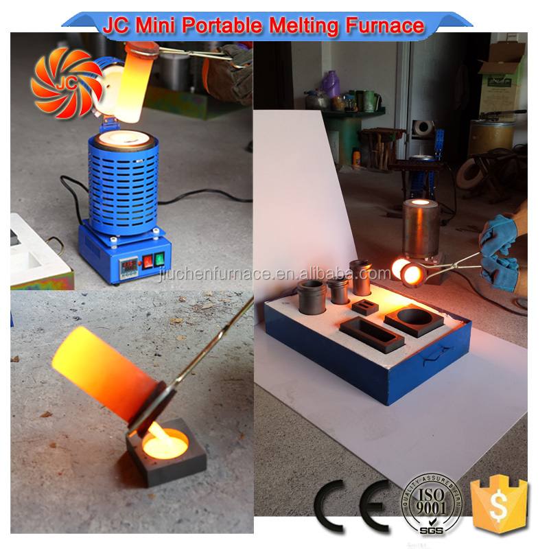 JC Mini Refining Casting Zinc Jewelry Making Precious Metals
