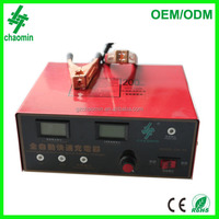 Automotive battery charger 12V/24V 40A with LCD display