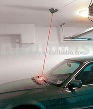 laser guided parking system