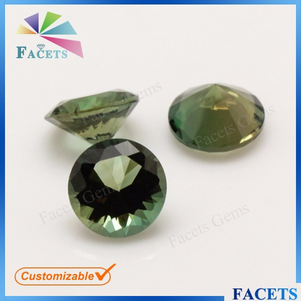 High Quality Round Peridot Synthetic Crystal Watches for Sapphire Crystal Prices Cheap