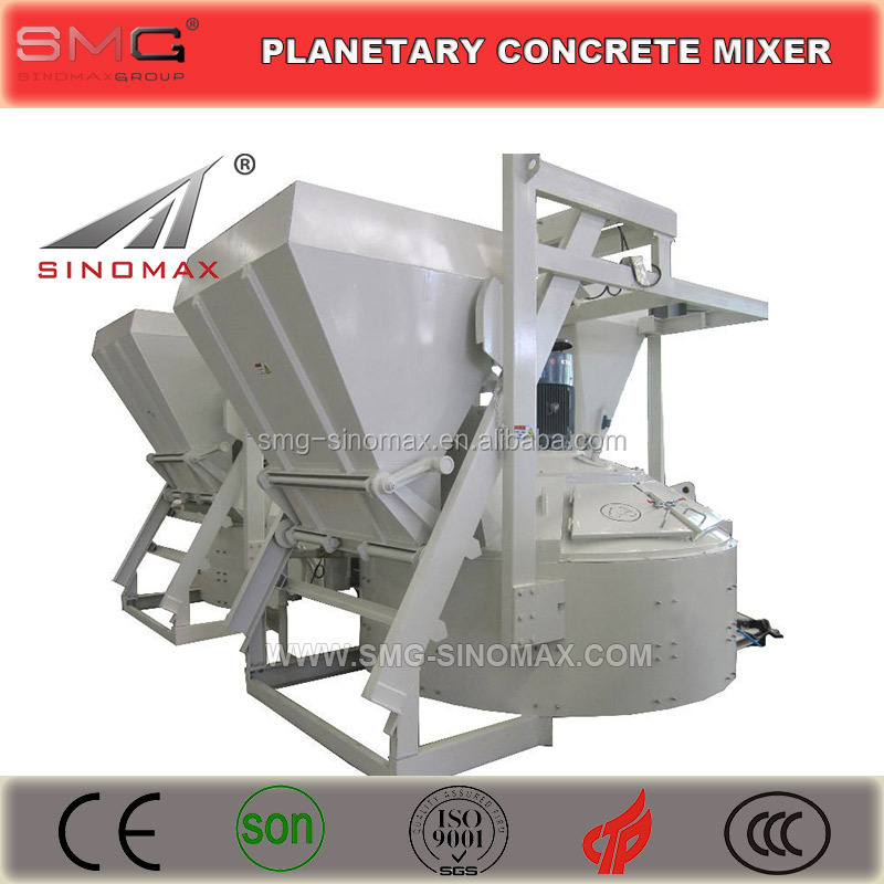 MP3000 3.0CUM Planetary Concrete Mixer, Concrete Pan Mixer for sale in China