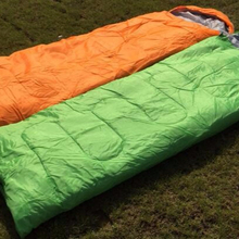 OEM 3 Season Cotton high quality low price camping shark sleeping bag