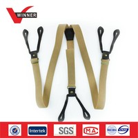 Custom elastic fashion suspenders