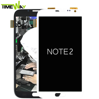 hot sale wholesale 5.5 inch lcd screen for samsung note 2 n7105/lte