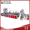 Threading-rolling trash bag making machine
