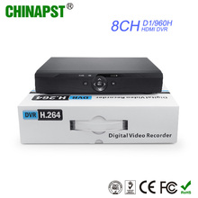 2016 China Manufacturer H.264 Real Time 960H HD DVR Security CCTV Camera 8CH DVR PST-DVR508D