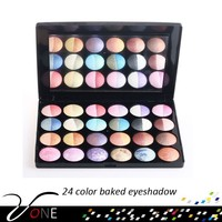 Pro 24 colors baked eyeshadow palette,large palette high pigment makeup