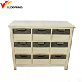 shabby chic wooden Antique Solid Wood White Finish Bedroom dresser