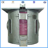 1ton cast iron melting induction furnace melting cast iron scrap prices