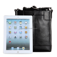 2015 Wholesal crossbody Genuine Leather Shoulder Bag for men schoolboys ipad notebook