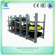 Hydraulic automatic car park stack parking system