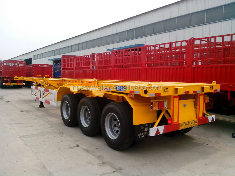 China Heavy duty 40ft shipping container trailer