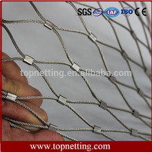 Flexible Stainless Steel Wire Rope Mesh/Pool Fence