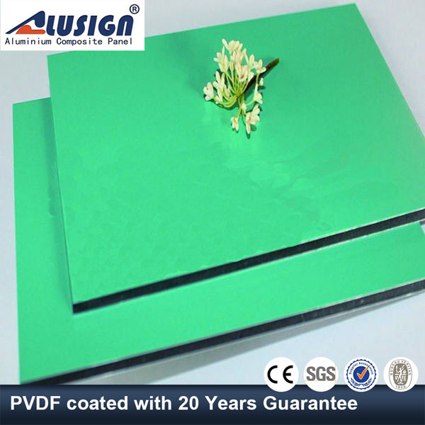 Alusign aluminum composite panel sheet 4mm well made for outdoor decoration