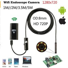 IP67 Waterproof Wifi USB automotive Borescope For Iphone IOS Windows Android