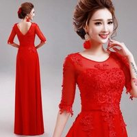 Good quality Cheapest new fashion dinner party ladies dress