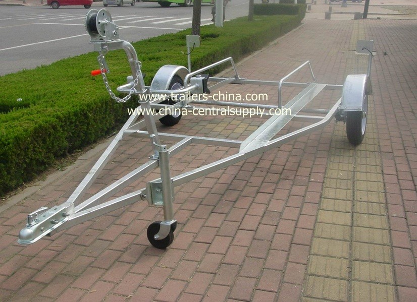 Boat trailer used welded galvanised 3.6m Jet ski trailer UAE364