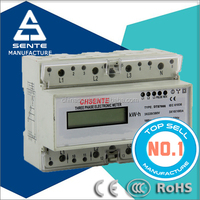 OEM Good quality DTS7666 type three phase electronic active watt-hour energy meter ct direct current energy meter