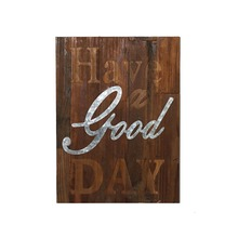 Shabby Chic Decoration Wooden Wall Plaque