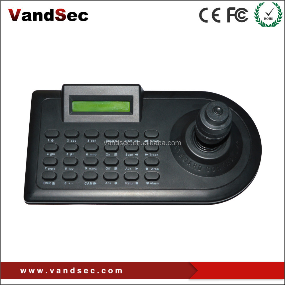 Vandsec PTZ Controller / Keyboard with Joystick / PTZ Dome Camera Keyboard Controller