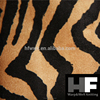 material fabric leopard printed design suede fabric
