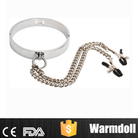 Metal Collar Sex Toy Clip Sex Women Nipple Toys
