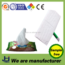 China OEM manufacturer disposable Mop cleaning wet wipes