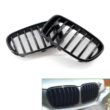 Car Front Gloss Black Grille Grill for BMWS F25 X3 11-13