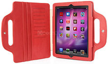 Hot selling laptop bag style tablet cover for ipad 5 colorful leather case