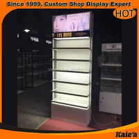 Hot sale Mac makeup display stand in china