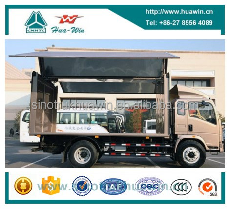 HOWO 4x2 Wing Cargo Truck 10T