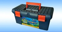 Hard PP water-proof plastic portable tool case