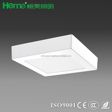 high quality 6W 12W 18W led square ceiling light panel light downlights