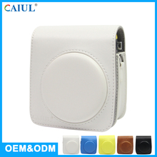 Supplier Of Customize Waterproof Mini70 White PU Small Camera Bag For Polaroid Photo Camera