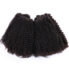 Color #1b & #1 12-20 inch100g 8 pieces kinky curly clip in hair extensions