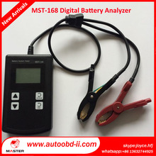 MST-168 Check Auto Batteries Analyzer Monitor working status of charging systems for cars Digital battery tester