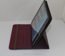 2014 very hot selling protective case for apple ipad air leather case