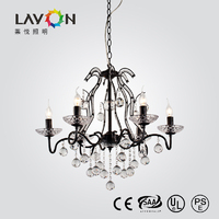 contemporary crystal ball candelabra for wedding decoration