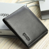 Luxury RFID Men's Wallet, Credit ID Card Holder Leather Billfold, Genuine Leather Wallet