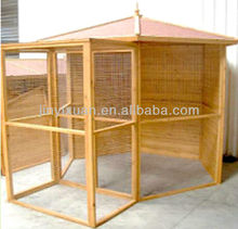 Outdoor Wood Bird House / Wood Pigeon Cage / Bird Aviary