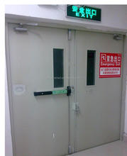 Steel fire rate door has push bar made in china